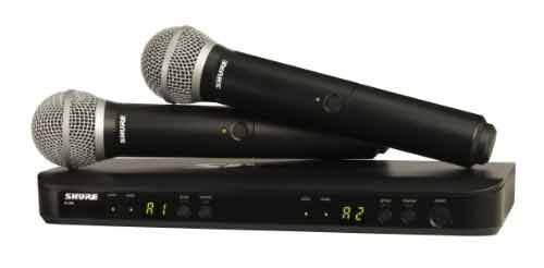 Shure BLX288 Microphone system
