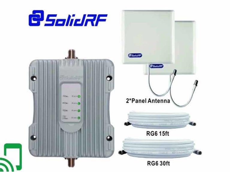 The Solidrf Buildingforce 4G M Cell Phone BoosterReviews
