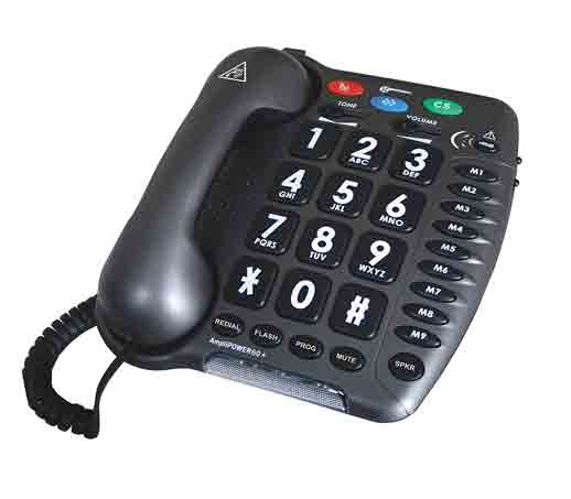geemarc ultra amplified corded telephone