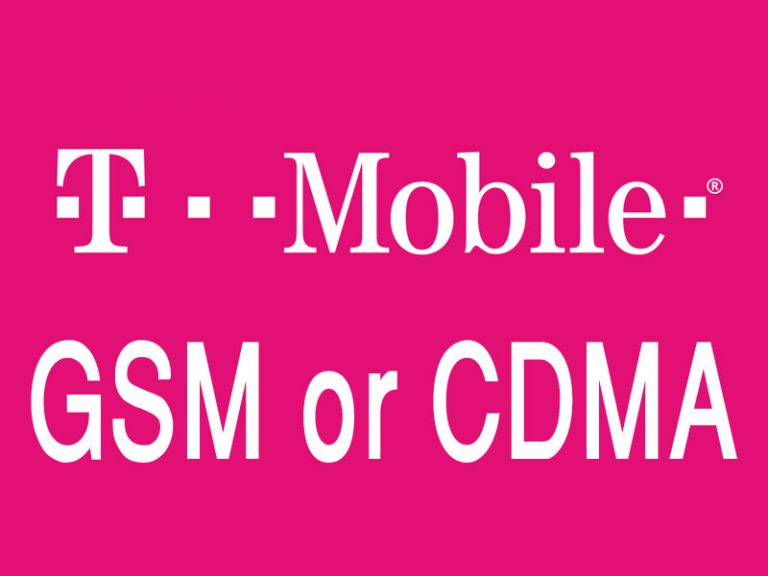 Is T-Mobile GSM or CDMA? Full Reviews