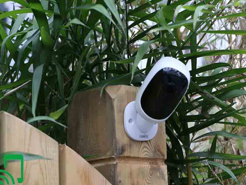 Battery Powered Outdoor Security Camera