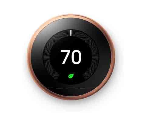 Google, T3021US, Nest Learning Thermostat